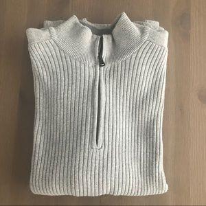 Express Men 1/4 Zip Sweater, XL